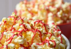 Transform a regular bowl of popcorn into Speedy Movie Night Popcorn. Your family will love this easy movie inspired snack, it is delicious and fun to make!