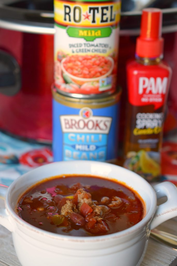 Slow Cooker Turkey Taco Soup is an easy meal to prepare with just a few ingredients. Tasty & filling this crockpot dinner will make the family happy.