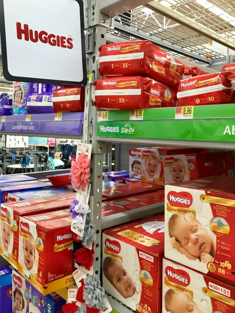 Helping our Littlest Humans with one their most basic needs, diapers! Support the Huggies No Baby Unhugged program by donating diapers.