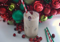 Minty Santa Holiday Cocktail