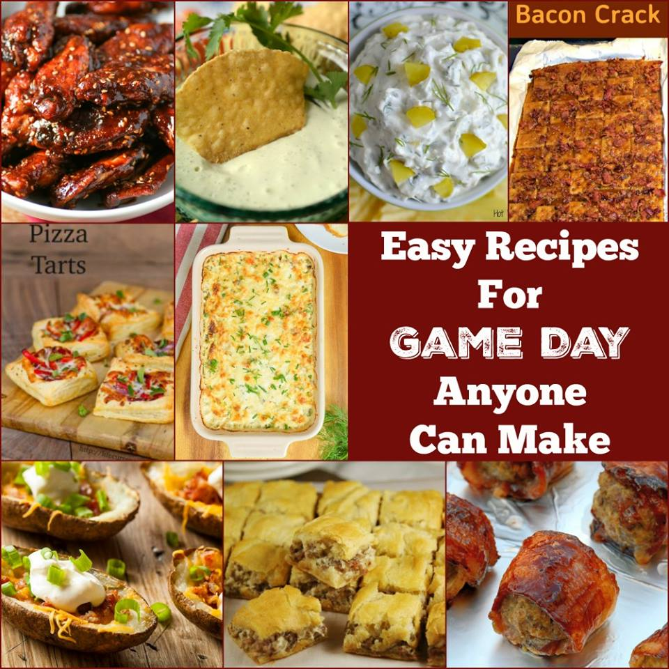The Best Game Day Recipes for the Super Bowl, tailgating, parties and cheering for your favorite team! Dips, appetizers, munchies we've got them all!