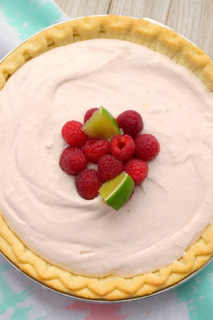 Raspberry Daiquiri Pie