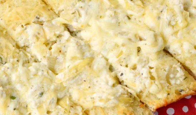 Cheesy Artichoke Loaf