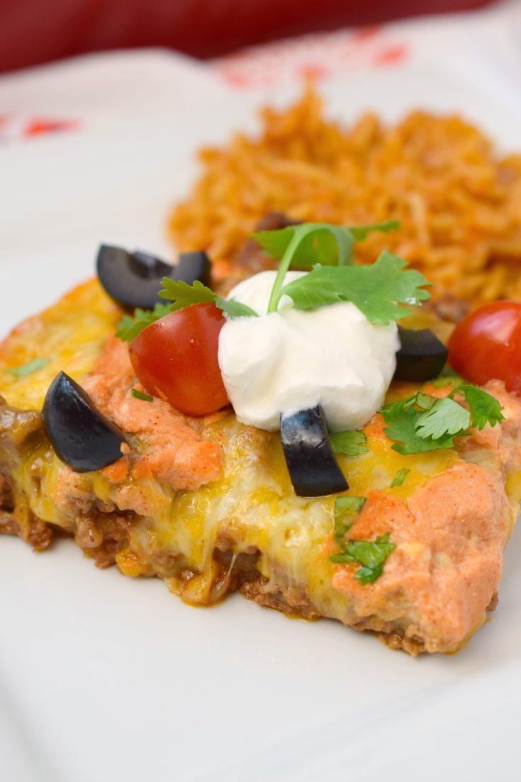 Hash Brown Taco Casserole
