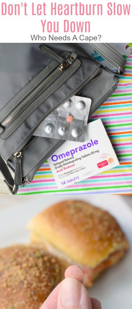 Don't Let Heartburn Slow You Down this busy summer season! Try the new Omeprazole Orally Disintegrating Tablet and get back to having fun!