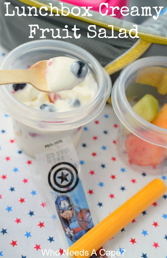 Lunchbox Creamy Fruit Salad