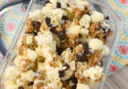 White Chocolate Granola Snack Mix