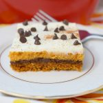 Pumpkin Chocolate Cheesecake Bars #PumpkinWeek