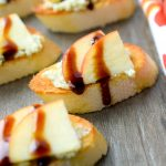Creamy Blue Cheese & Sliced Apple Crostini
