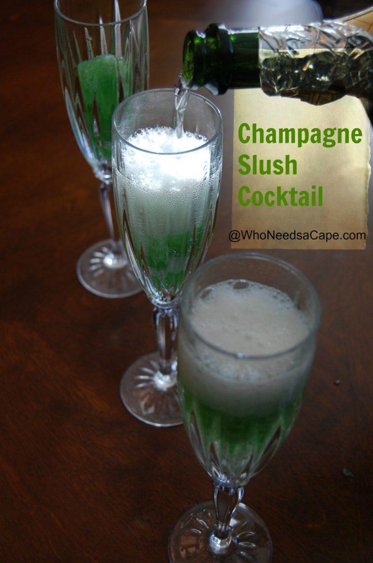 Champagne Slush Cocktail