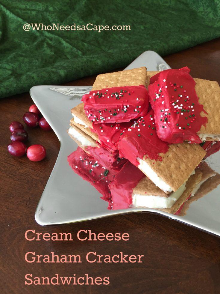 Cream Cheese Graham Cracker Sandwiches