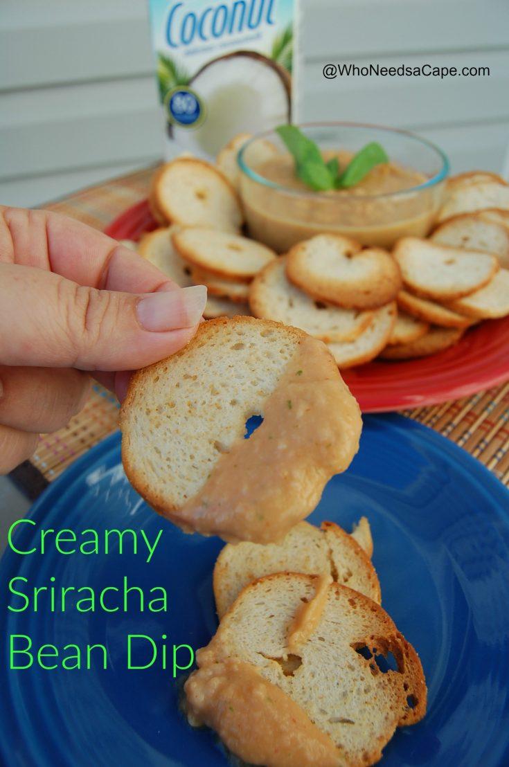 Creamy Sriracha Bean Dip