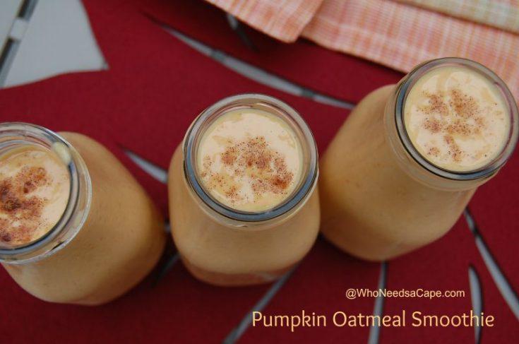 Pumpkin Oatmeal Smoothie