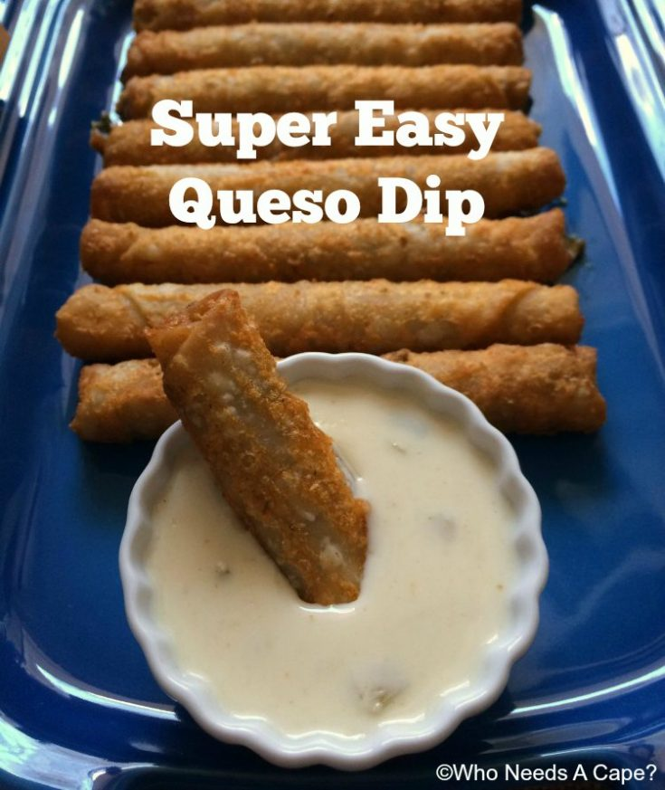 Super Easy Queso Dip