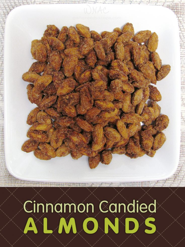 Cinnamon Candied Almonds