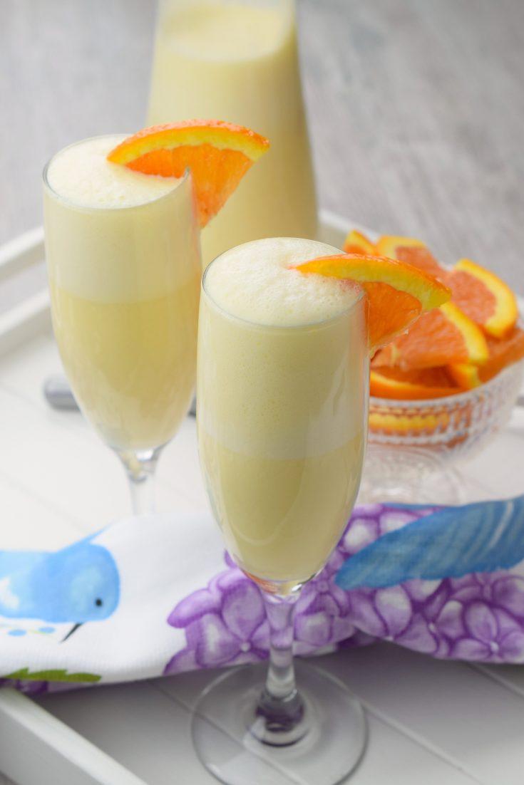 Orange Creamsicle Mimosas
