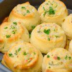 Savory Cheesy Pinwheels