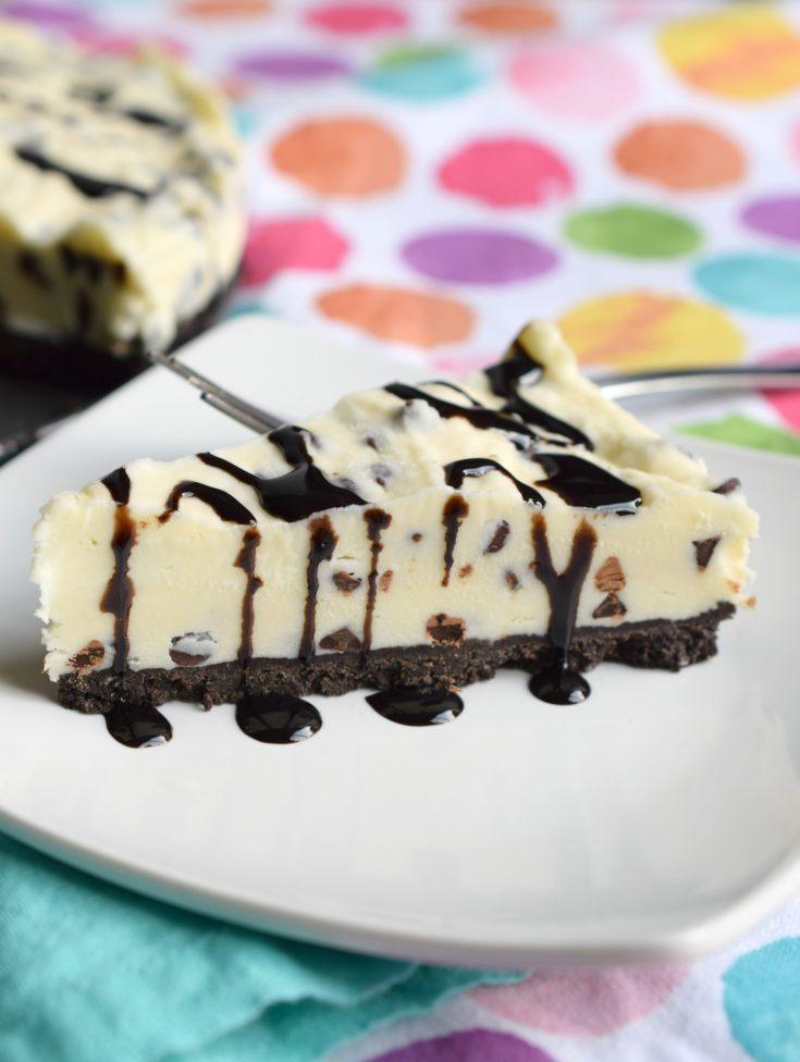 Frozen Creamy Chocolate Chip Dessert