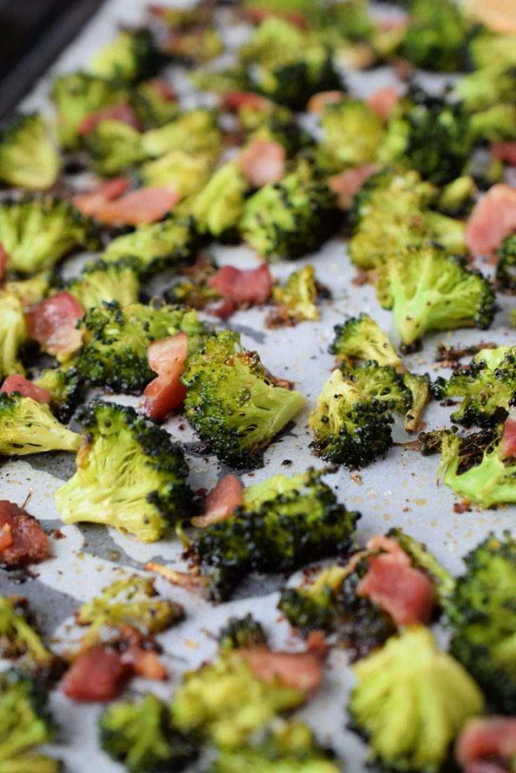 Roasted Broccoli With Bacon Who Needs A Cape